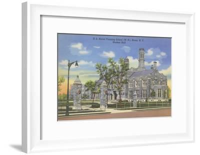 Naval Training School, Bronx, New York--Framed Art Print