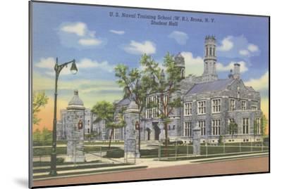 Naval Training School, Bronx, New York--Mounted Art Print