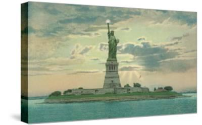 Statue of Liberty, New York City--Stretched Canvas Print