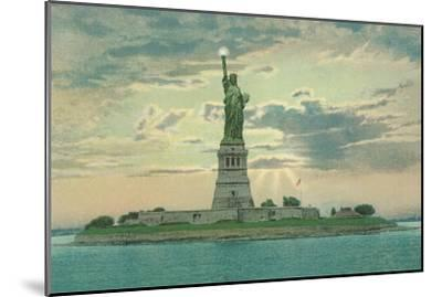 Statue of Liberty, New York City--Mounted Art Print