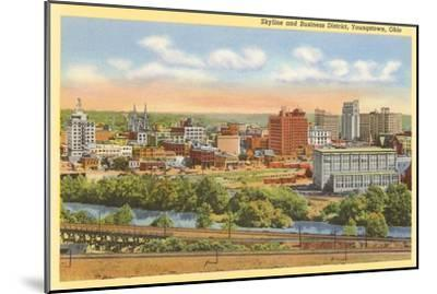 Business District, Youngstown, Ohio--Mounted Art Print