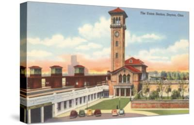 Union Station, Dayton, Ohio--Stretched Canvas Print