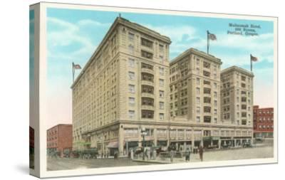 Multnomah Hotel, Portland, Oregon--Stretched Canvas Print
