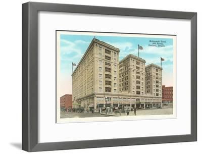 Multnomah Hotel, Portland, Oregon--Framed Art Print