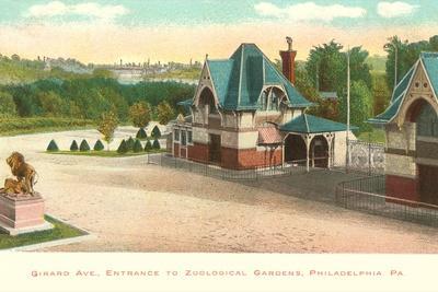 Zoo, Philadelphia, Pennsylvania--Stretched Canvas Print