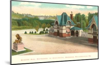 Zoo, Philadelphia, Pennsylvania--Mounted Art Print