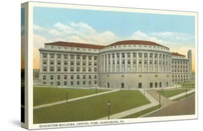 Education Building, Harrisburg, Pennsylvania--Stretched Canvas Print