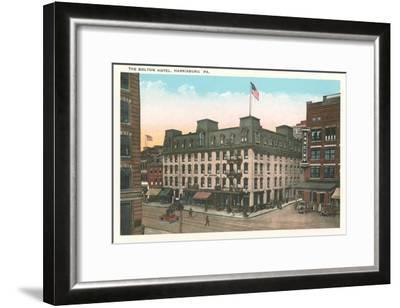 Bolton Hotel, Harrisburg, Pennsylvania--Framed Art Print