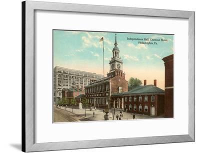 Independence Hall, Philadelphia, Pennsylvania--Framed Art Print