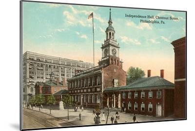 Independence Hall, Philadelphia, Pennsylvania--Mounted Art Print