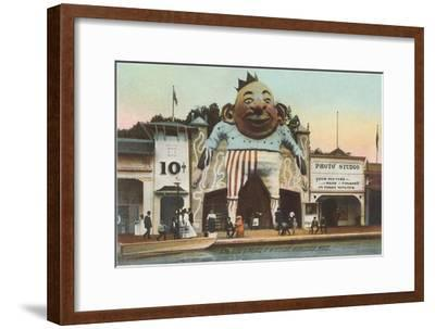 King Dodo Palace at White City, Worcester, Massachusetts--Framed Art Print