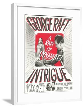 Film Noir One-Sheet--Framed Art Print