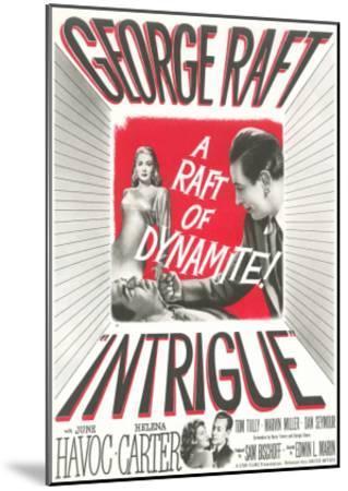 Film Noir One-Sheet--Mounted Art Print
