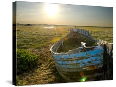 UK, England, Norfolk, Blakeney-Alan Copson-Stretched Canvas Print