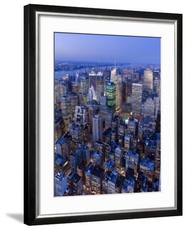 USA, New York City, Manhattan, Midtown-Gavin Hellier-Framed Photographic Print