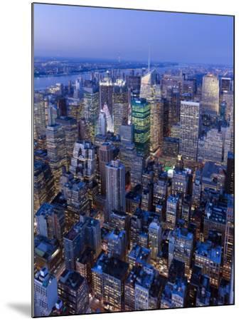 USA, New York City, Manhattan, Midtown-Gavin Hellier-Mounted Photographic Print