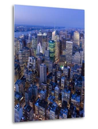 USA, New York City, Manhattan, Midtown-Gavin Hellier-Metal Print