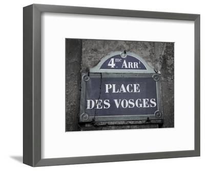 Place Des Vosges, Marais District, Paris, France-Jon Arnold-Framed Photographic Print