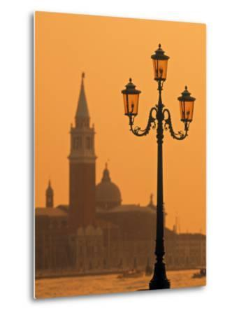 San Giorgio Maggiore, Grand Canal at Sunset, Venice, Italy-Jon Arnold-Metal Print