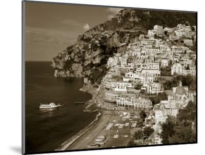 Village of Positano, Amalfi Coast, Campania, Italy-Steve Vidler-Mounted Photographic Print