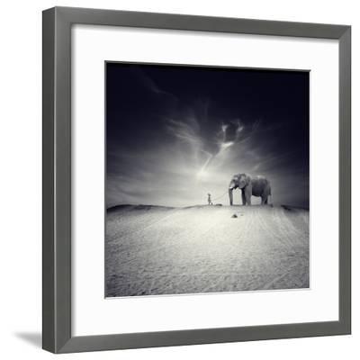 Walk with Me-Luis Beltran-Framed Premium Photographic Print
