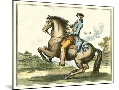 Equestrian Training IV-Diderot-Mounted Art Print