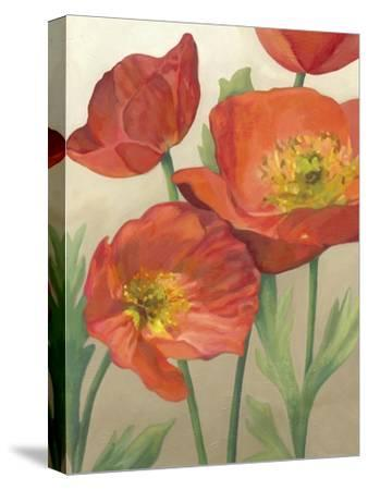Poppy Love I-Megan Meagher-Stretched Canvas Print