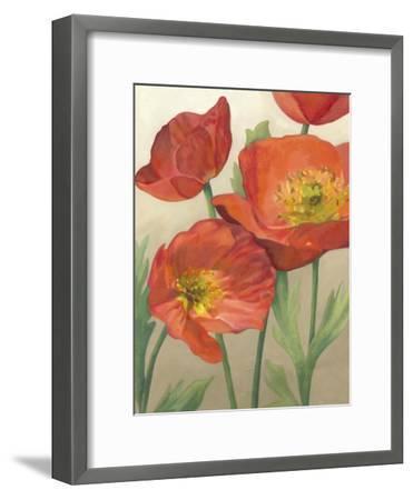 Poppy Love I-Megan Meagher-Framed Art Print