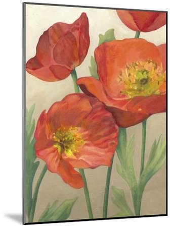 Poppy Love I-Megan Meagher-Mounted Art Print
