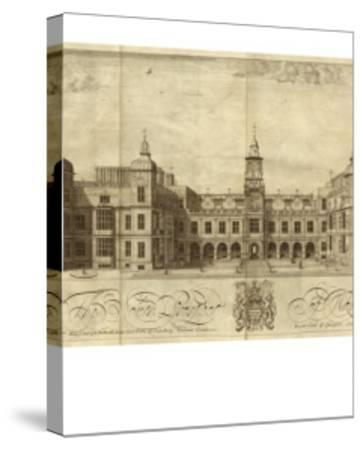 Hatfield House--Stretched Canvas Print