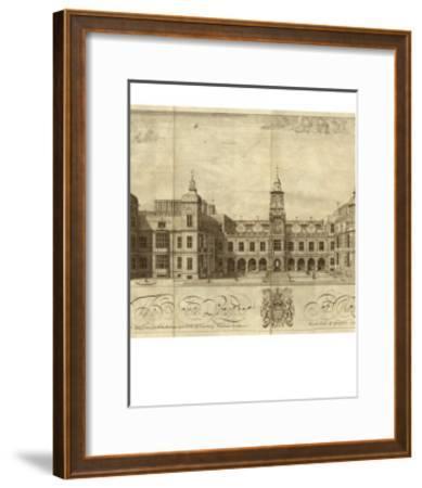 Hatfield House--Framed Art Print