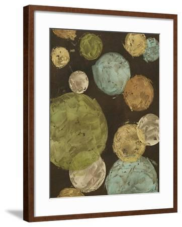 Non-Embellished Circles & Spheres II--Framed Art Print