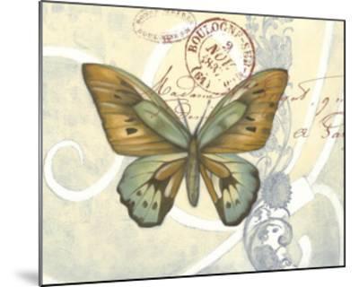 Non-Embellished Postcard Song III--Mounted Art Print