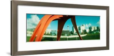Sculpture in a Park, Olympic Sculpture Park, Seattle Art Museum, Seattle, King County, Washington--Framed Photographic Print