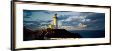 Lighthouse at the Coast, Broyn Bay Light House, New South Wales, Australia--Framed Photographic Print