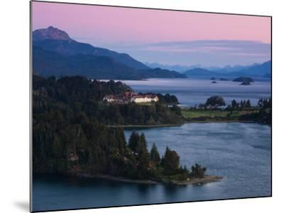 Hotel at the Lakeside, Llao Llao Hotel, Lake Nahuel Huapi, San Carlos De Bariloche--Mounted Photographic Print
