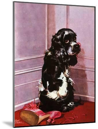 """Bad Dog, Butch,"" September 20, 1947-Albert Staehle-Mounted Giclee Print"