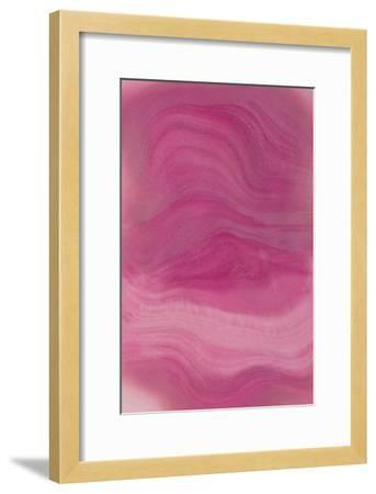 Nirvana: Purple Light Gives Me Sacredness-Masaho Miyashima-Framed Giclee Print
