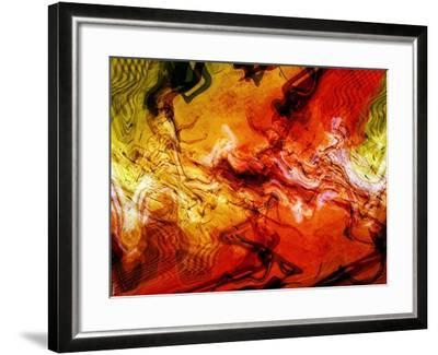 Abstract 21-Shiroki Kimaneka-Framed Giclee Print