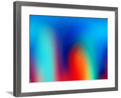 Abstract 40-Shiroki Kimaneka-Framed Giclee Print