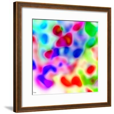 Abstract 43-Shiroki Kimaneka-Framed Giclee Print