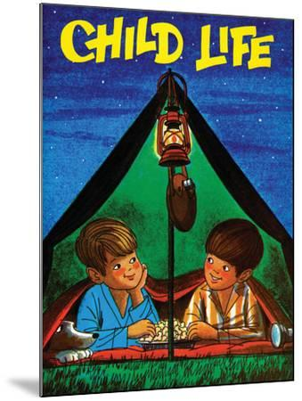 Camping - Child Life, August 1971-Joy Friedman-Mounted Giclee Print
