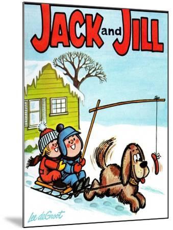 Hot Dog! - Jack and Jill, January 1965-Lee de Groot-Mounted Giclee Print