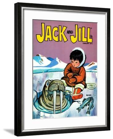 You Should Have Seen The One That Got Away - Jack and Jill, February 1971-Sidney Quinn-Framed Giclee Print