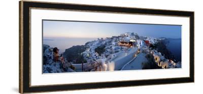Village of Oia (La), Santorini (Thira), Cyclades Islands, Greece-Gavin Hellier-Framed Photographic Print