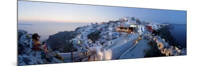 Village of Oia (La), Santorini (Thira), Cyclades Islands, Greece-Gavin Hellier-Mounted Photographic Print