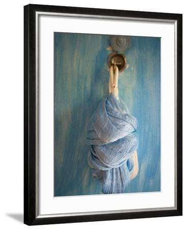 Playa Del Carmen, Mexico; a Hammock Hanging on a Wall in a Hotel-Dan Bannister-Framed Photographic Print