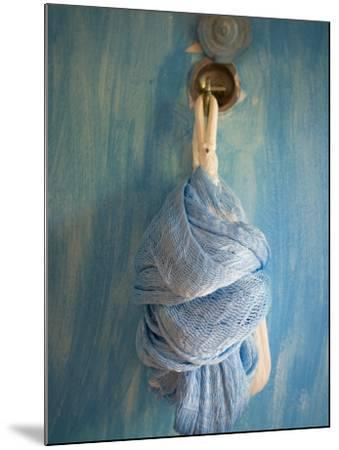 Playa Del Carmen, Mexico; a Hammock Hanging on a Wall in a Hotel-Dan Bannister-Mounted Photographic Print