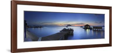 Caribbean, Netherland Antilles, Bonaire, Beach Resort-Michele Falzone-Framed Photographic Print