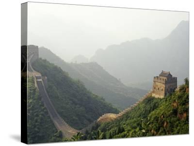 China, Tianjin, Taipinzhai; a Section of China's Great Wall from Taipinzhai to Huangyaguan-Amar Grover-Stretched Canvas Print